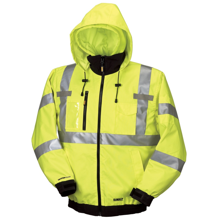 DEWALT Large High-Vis Lithium Ion (Li-Ion) Heated Jacket