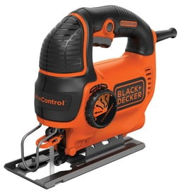 BLACK+DECKER 5-Amp Keyless T or U Shank Variable Speed Corded Jigsaw