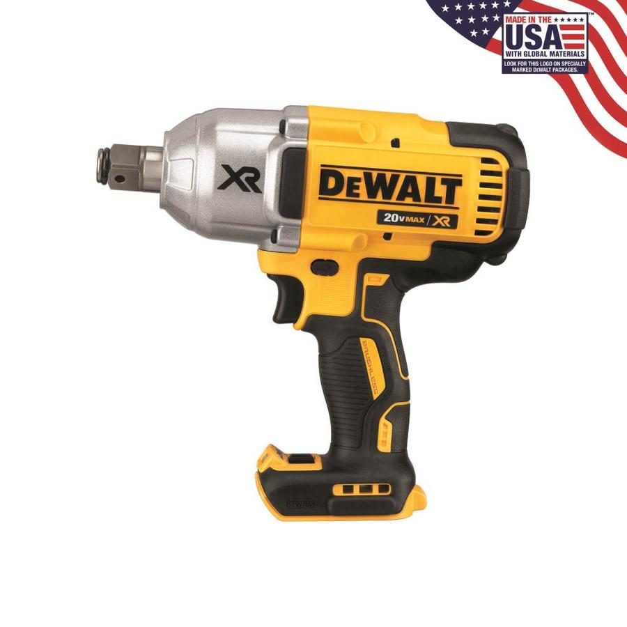 DEWALT 20-Volt Max 3/4-in Drive Cordless Impact Wrench