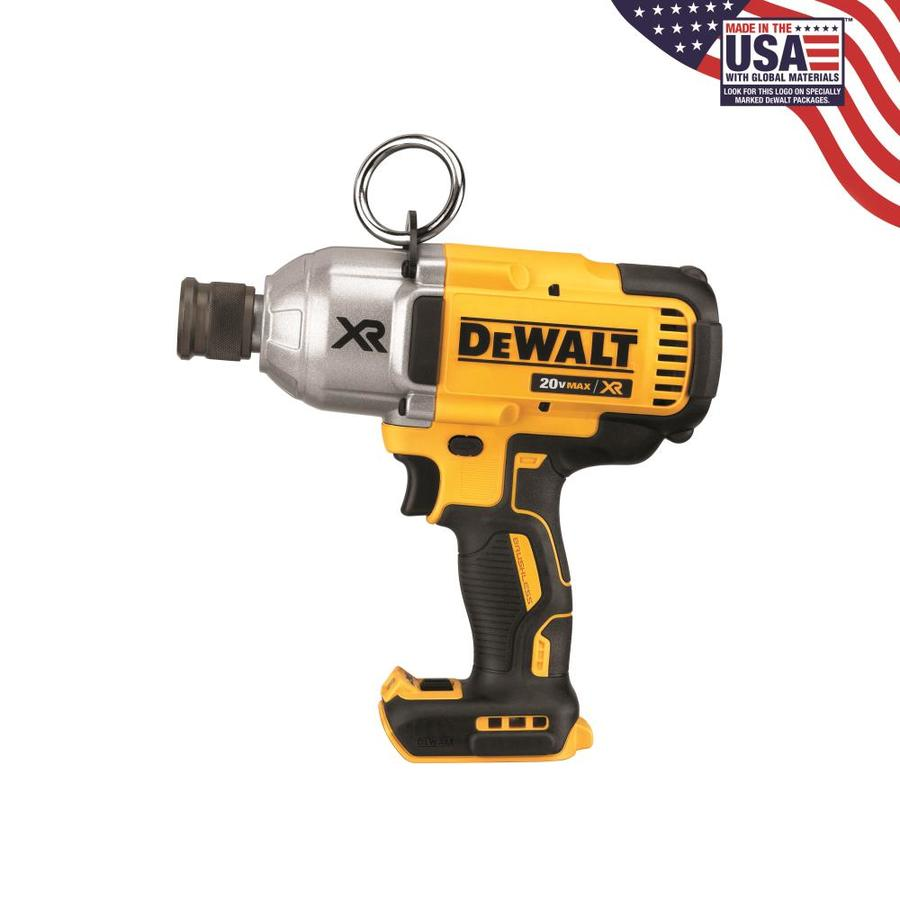 DEWALT 20-Volt Max 7/16-in Drive Cordless Impact Wrench