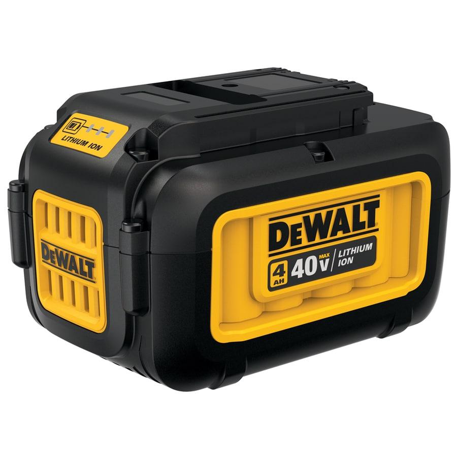 Shop Dewalt 40 Volt Max Amp Hours Rechargeable Lithium Ion
