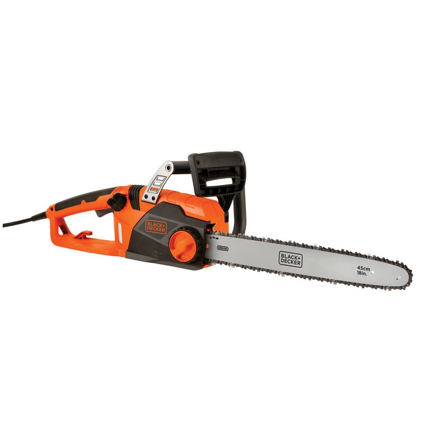 Shop Black Decker 15 Amp 18 In Corded Electric Chainsaw At