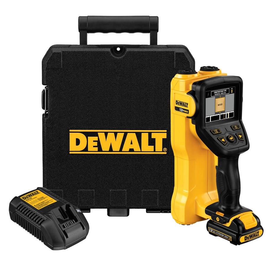 Shop levels measuring tools at lowes dewalt 35 in scan depth battery pack finder greentooth Images