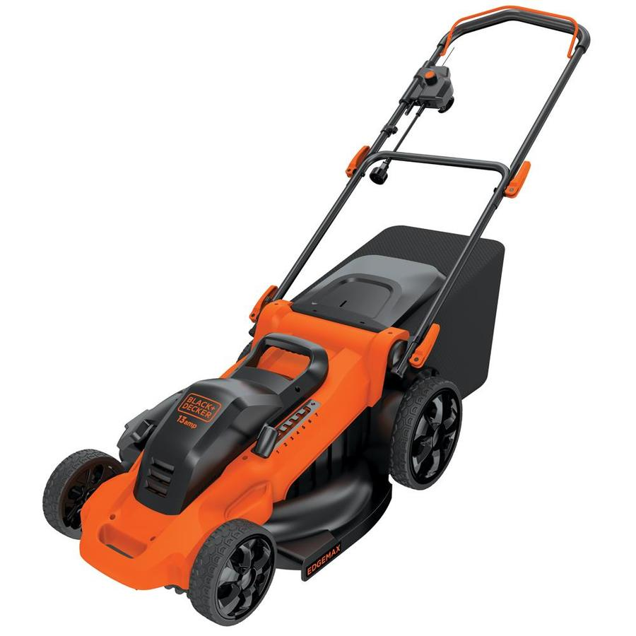 BLACK & DECKER 13-Amp 20-in Deck Width Push Corded Electric Push Lawn Mower Mulching Capability