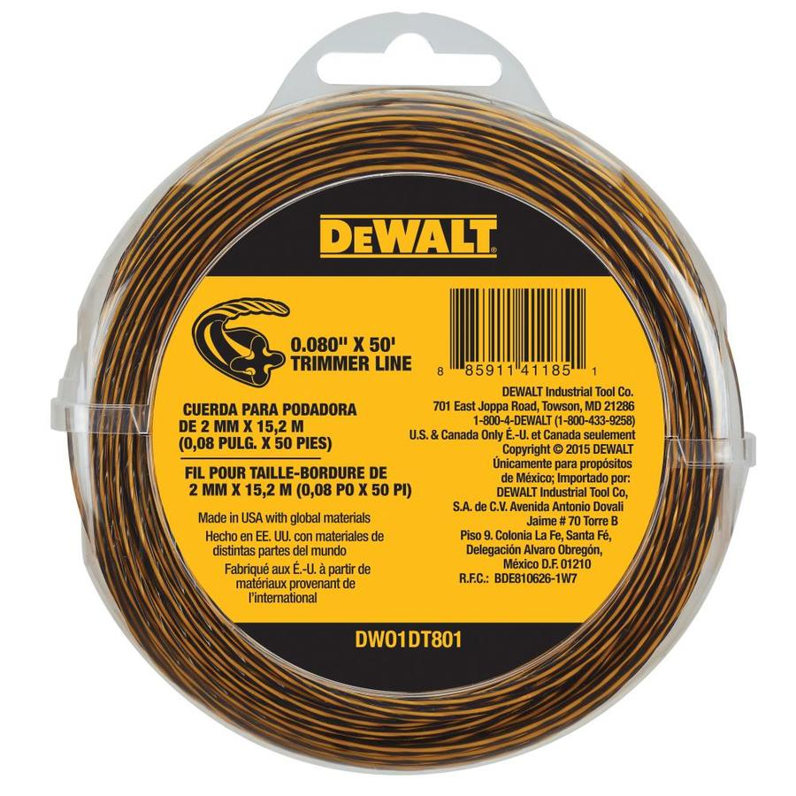 DEWALT 50-ft Spool 0.08-in Trimmer Line