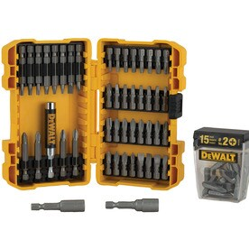 dewalt 62 piece screwdriver bit set deal details brickseek. Black Bedroom Furniture Sets. Home Design Ideas