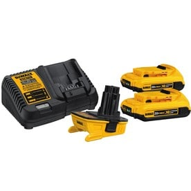 Dewalt - DCA2203C - DeWALT DCA2203C 18 - 20-Volt 2.0Ah Lithium-Ion Battery/Charger/Adapter Kit