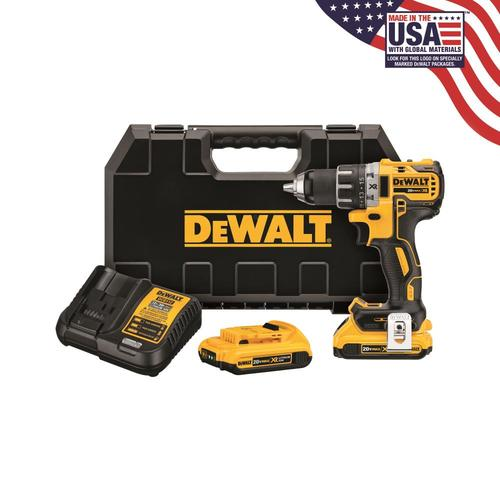 DEWALT XR 20-Volt Max 1/2-in Brushless Cordless Drill (Charger Included) at Lowes.com