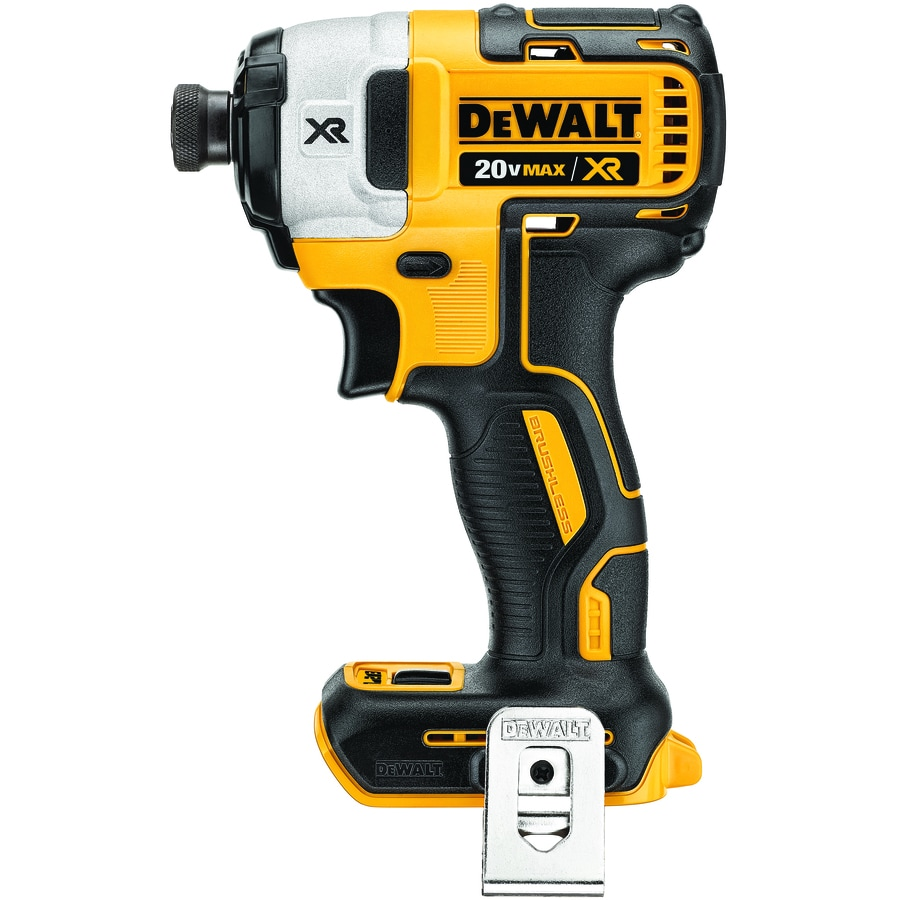 DEWALT XR 20-Volt Max Lithium Ion 1/4-in Cordless Variable Speed Brushless Impact Driver (Bare Tool Only)