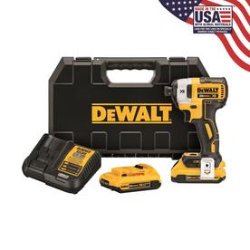DEWALT XR 20-Volt Max Variable Speed Brushless Cordless Impact Driver (2-Batteries Included)