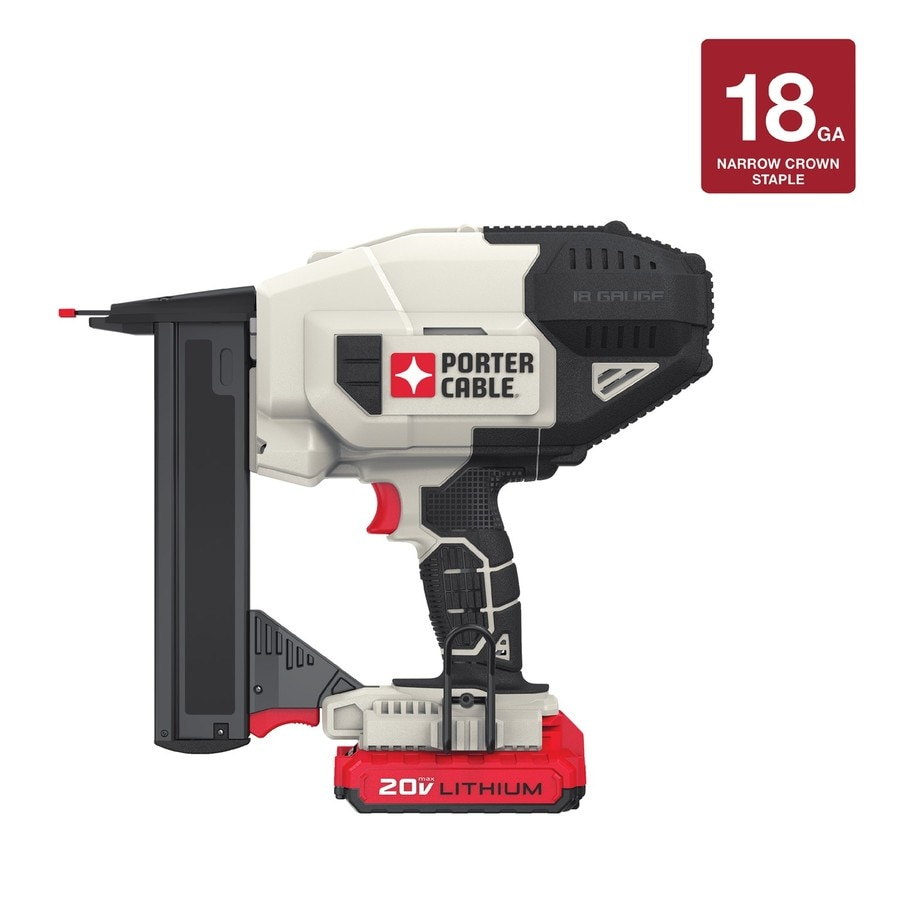 PORTER-CABLE 18-Gauge 20-Volt Brad Cordless Nailer with Battery