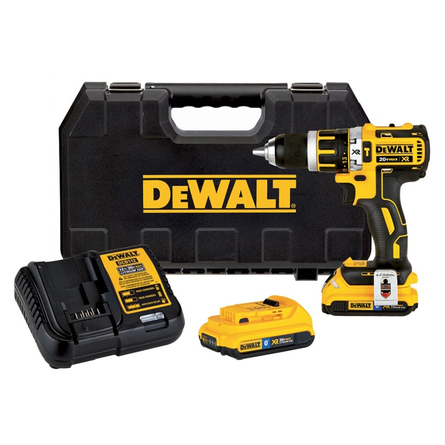 DEWALT 1/2-in 20-Volt Lithium Ion (Li-ion) Variable Speed Brushless Cordless Hammer Drill