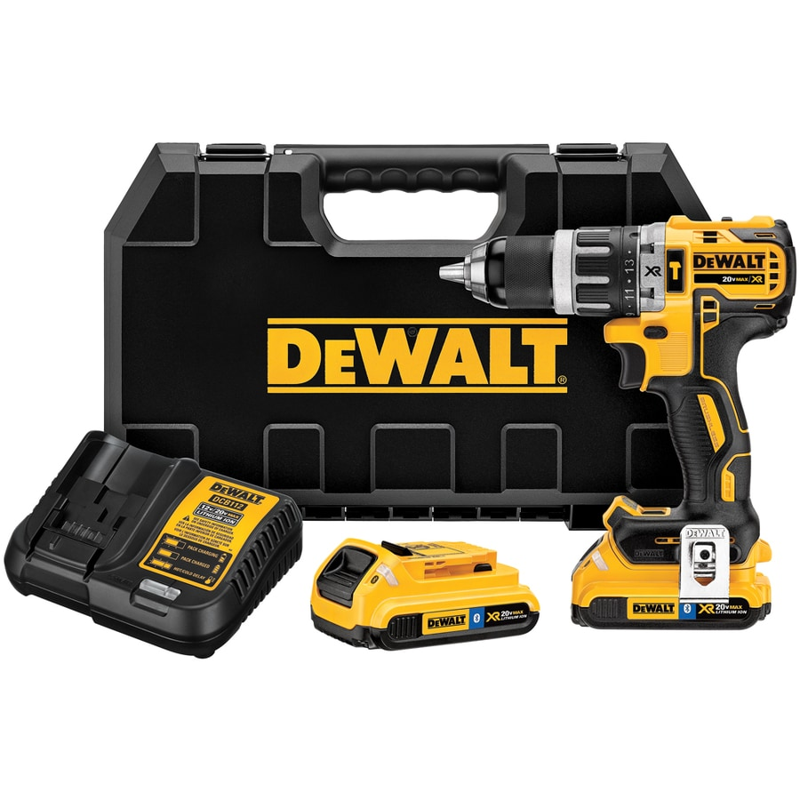 DEWALT 1/2-in 20-Volt Max-Volt Lithium Ion (Li-ion) Variable Speed Brushless Cordless Hammer Drill