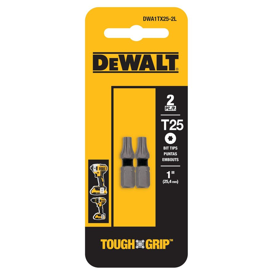 DEWALT 2-Pack 1-in Torx Screwdriver Bit