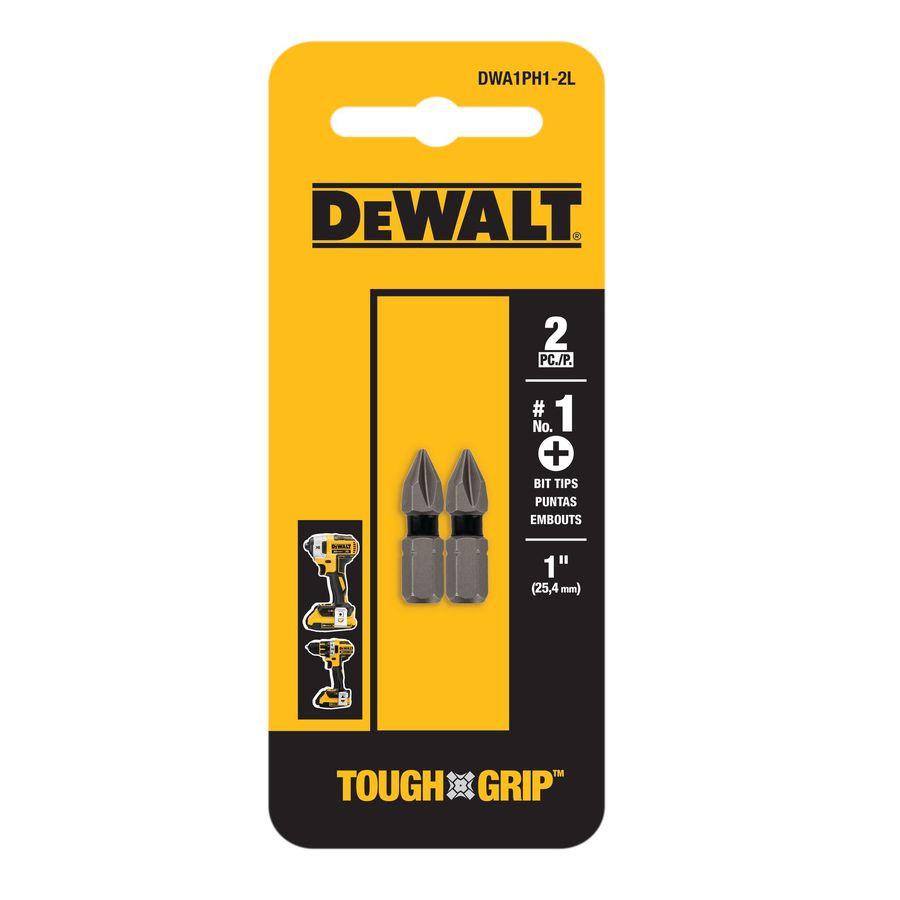 DEWALT 2-Pack 1-in Phillips Screwdriver Bit