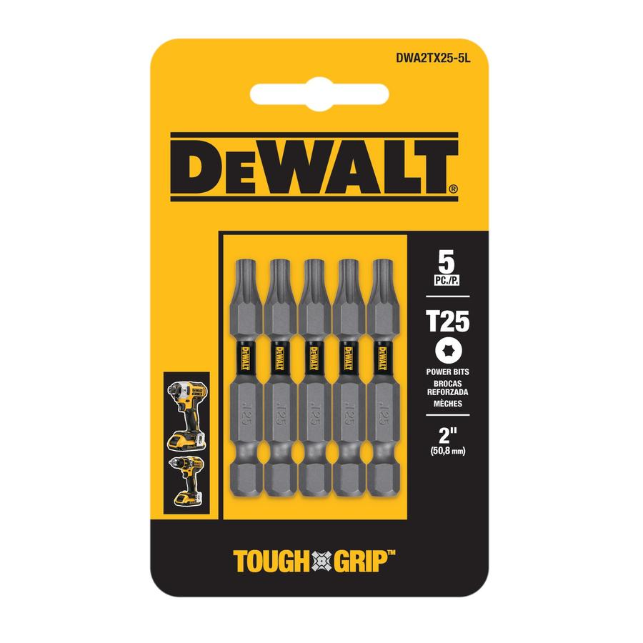 DEWALT 5-Piece Screwdriver Bit Set