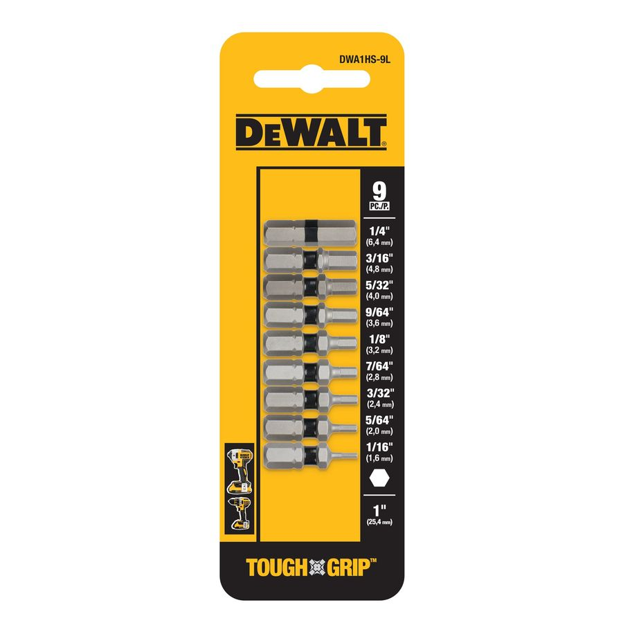 DEWALT 9-Piece Screwdriver Bit Set