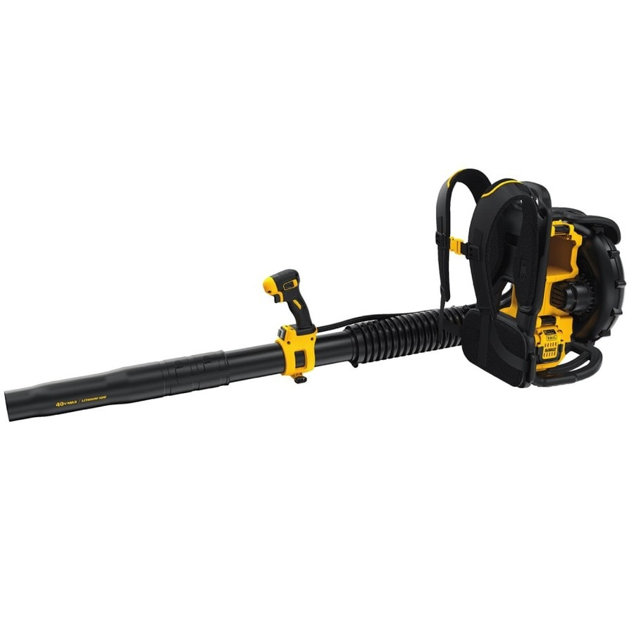 DEWALT 40-volt Max Lithium Ion 450-CFM 142-MPH Heavy-duty Brushless Cordless Electric Leaf Blower (Battery Included)