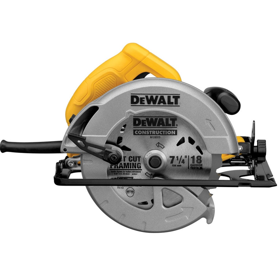 Shop dewalt 7 14 in 15 amp corded circular saw with steel shoe at dewalt 7 14 in 15 amp corded circular saw with steel keyboard keysfo Images