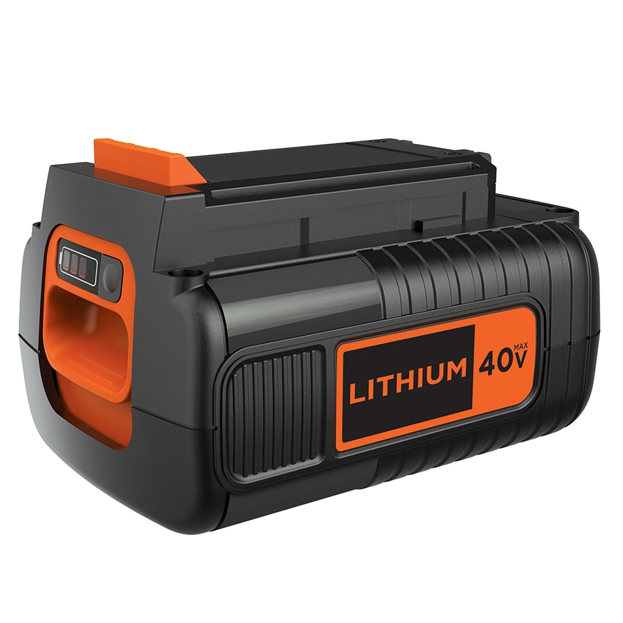 BLACK & DECKER 40-Volt 1.5-Amp Hours Rechargeable Lithium Ion (Li-ion) Cordless Power Equipment Battery