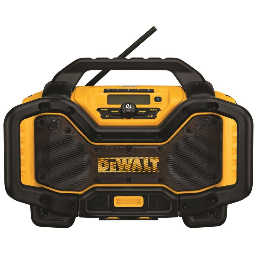 Shop Dewalt 20 Volt Max Cordless Jobsite Radio Bluetooth