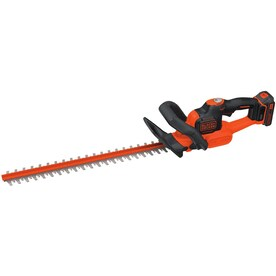 BLACK+DECKER POWERCUT 20-Volt Max 22-in Dual Cordless Electric Hedge Trimmer (Battery Included)