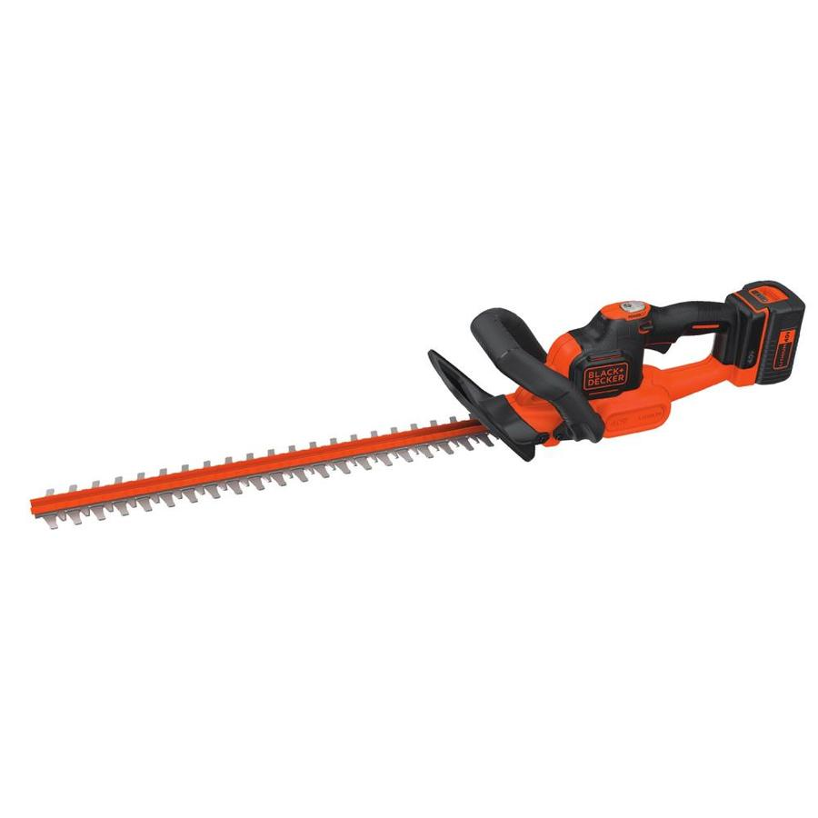 BLACK & DECKER POWERCUT 40-Volt Max 24-in Dual Cordless Hedge Trimmer