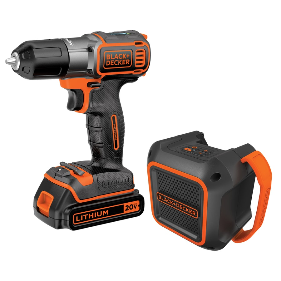BLACK & DECKER 2-Tool 20-Volt Lithium Ion (Li-ion) Cordless Combo Kit