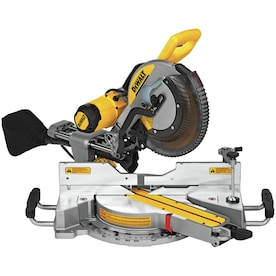 DEWALT 12-in 15-Amp Dual Bevel Sliding Compound Miter Saw with Free Miter Saw Stand