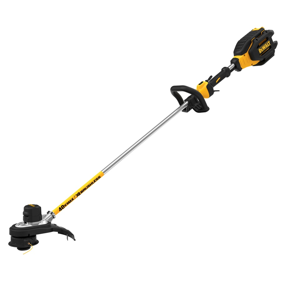 DEWALT 40-Volt Max 15-in Straight Brushless Cordless String Trimmer and Edger (Bare Tool Only)