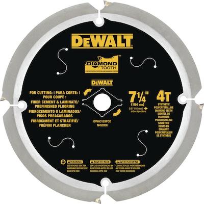 Dewalt 7 1 4 In 4 Tooth Diamond Circular Saw Blade For