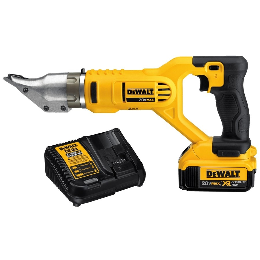 electric metal shears. dewalt 2 20-gauge 20-volt cordless metal shears electric