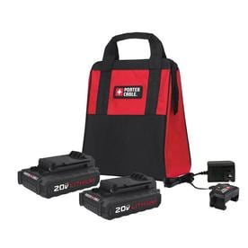 PORTER-CABLE 2-Pack 20-Volt Max 1.3-Amp-Hours Lithium Power Tool Battery