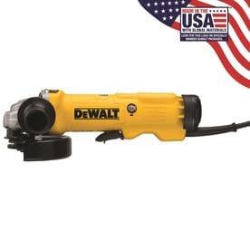 dewalt cordless grinder. dewalt 6-in 13-amp paddle switch corded angle grinder dewalt cordless