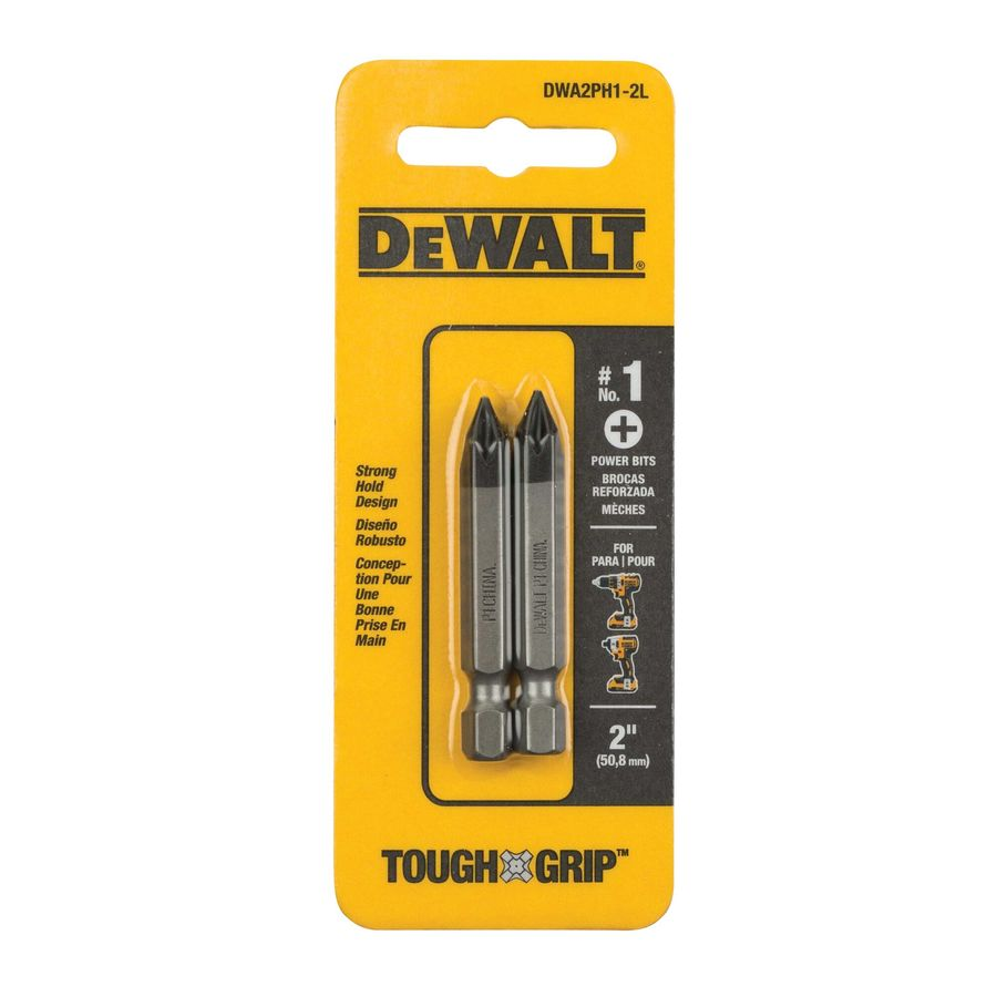 DEWALT 2-Pack 2-in Phillips Screwdriver Bits