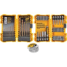 dewalt 68 piece screwdriver bit set deal details brickseek. Black Bedroom Furniture Sets. Home Design Ideas