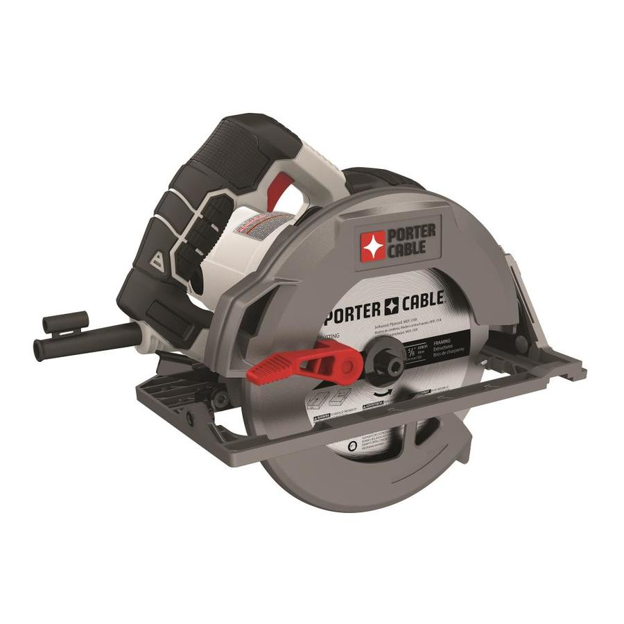 Shop porter cable 15 amp 7 14 in magnesium corded circular saw at porter cable 15 amp 7 14 in magnesium corded circular greentooth Images