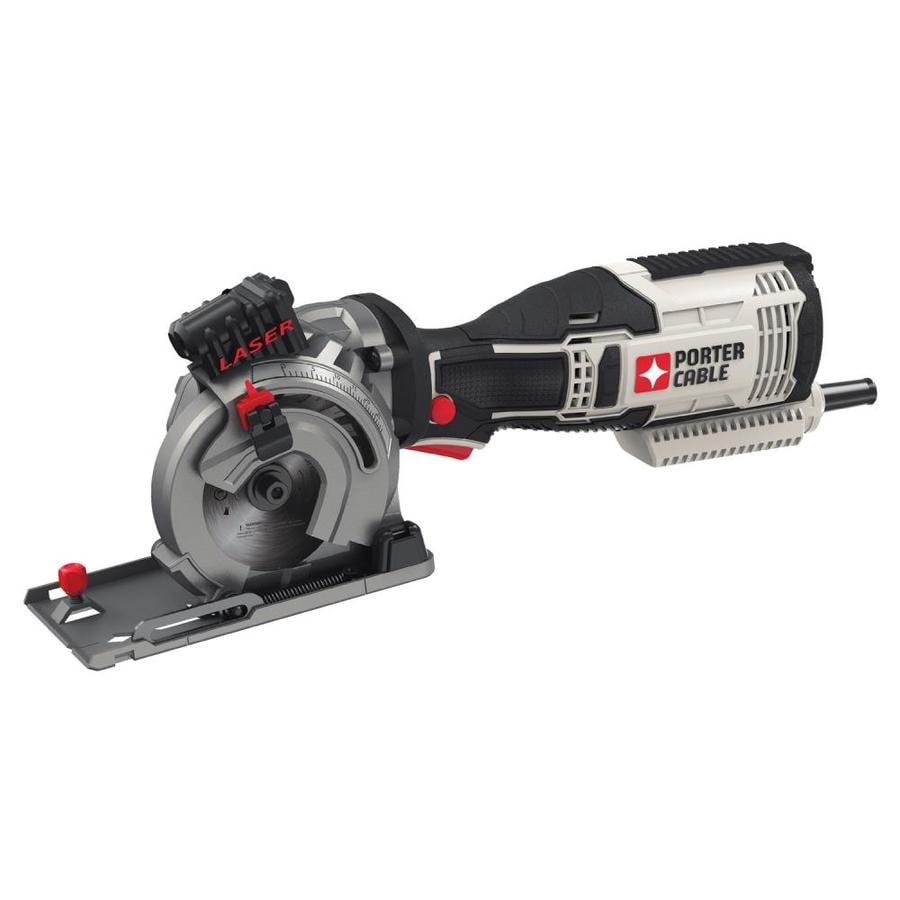 Shop porter cable 3 12 in 55 amp corded circular saw at lowes porter cable 3 12 in 55 amp corded circular saw greentooth Choice Image