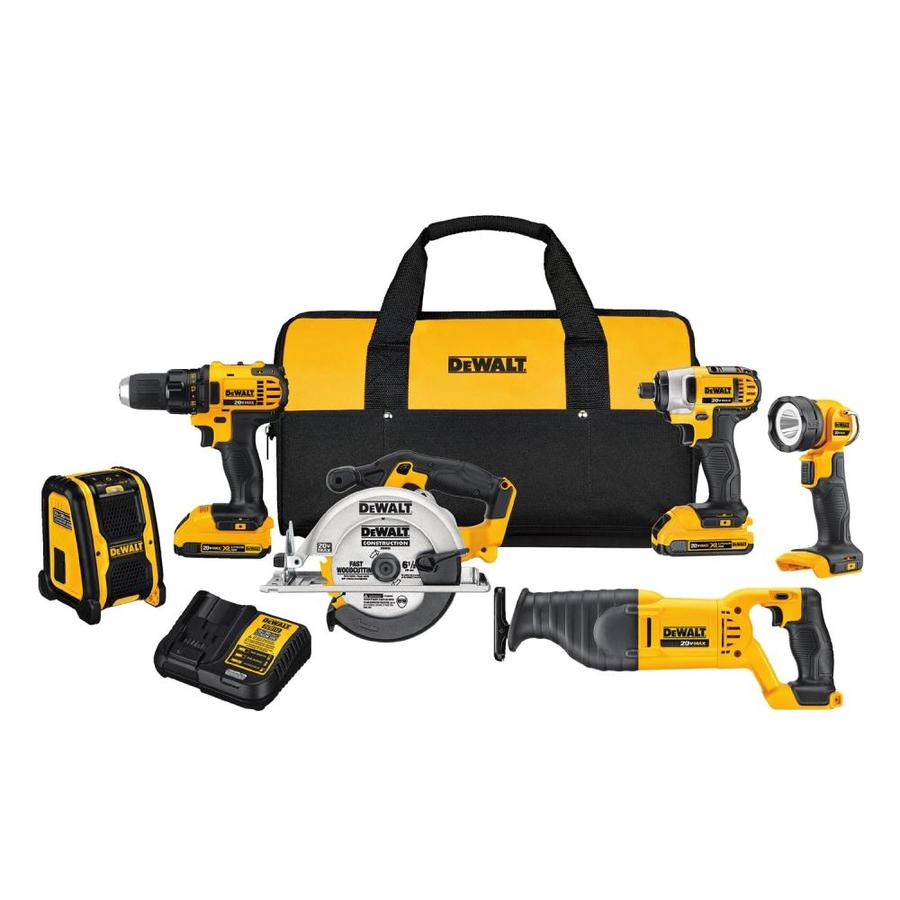 Power Tool Combo Kits at Lowes com
