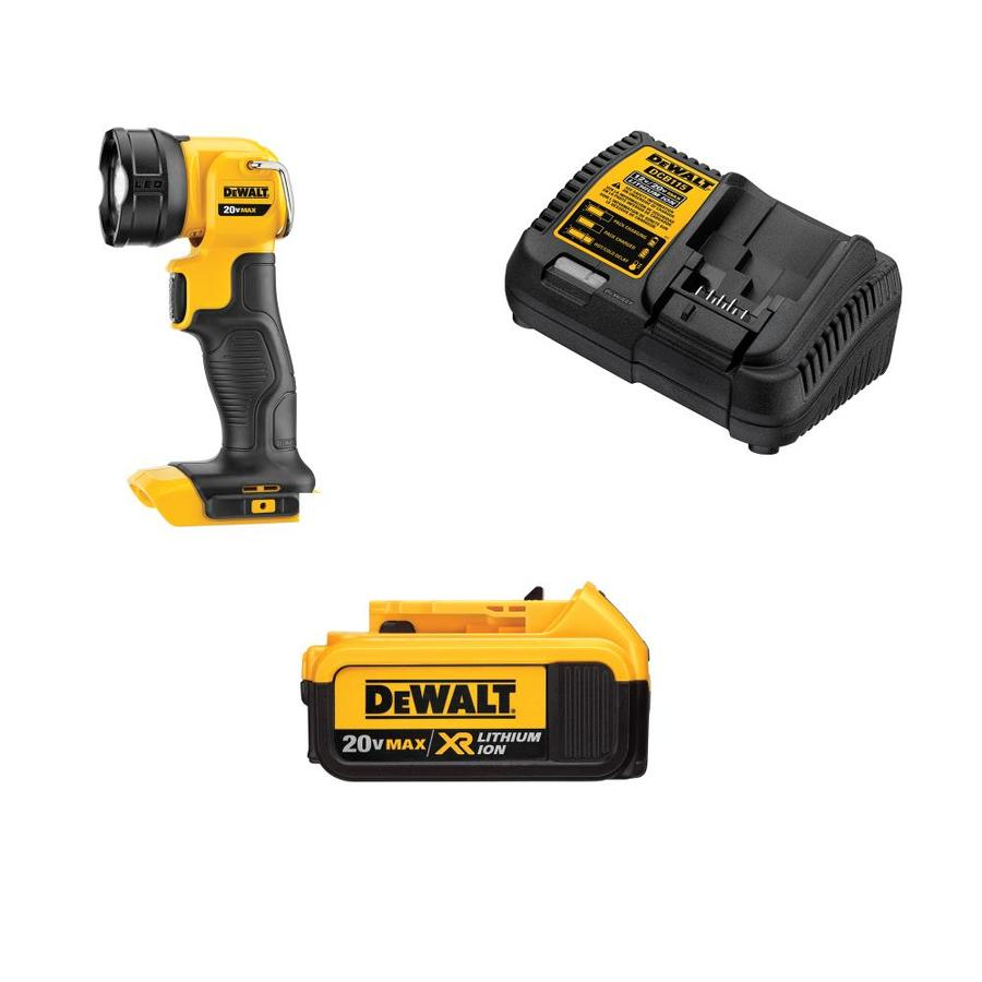 DEWALT 110-Lumen LED Rechargeable Power Tool Flashlight