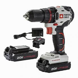 'PORTER-CABLE 20-Volt Max 1/2-in Cordless Brushless Drill' from the web at 'https://mobileimages.lowes.com/product/converted/885911/885911483209lg.jpg'