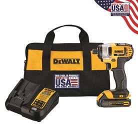 DEWALT 20-Volt Max Variable Speed Cordless Impact Driver (1-Battery Included)
