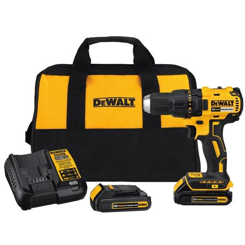DEWALT 20-Volt Max 1/2-in Brushless Cordless Drill (Charger Included) at Lowes.com