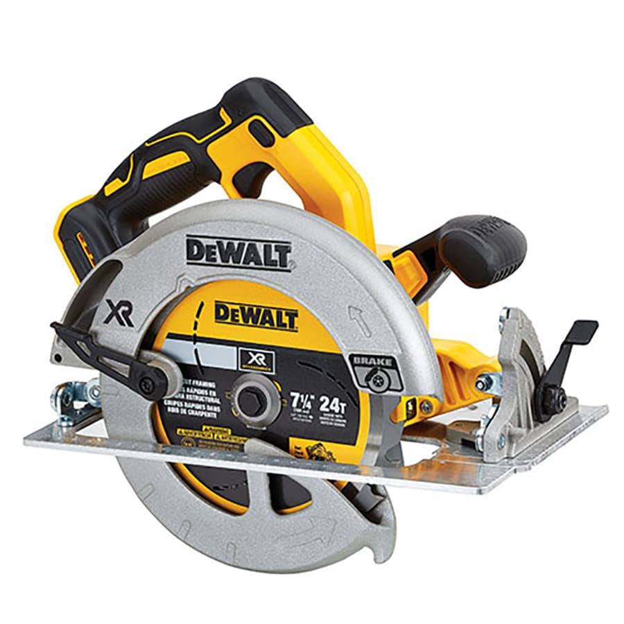 DEWALT XR 20-Volt 7-1/4-in Brushless Cordless Circular Saw with Brake