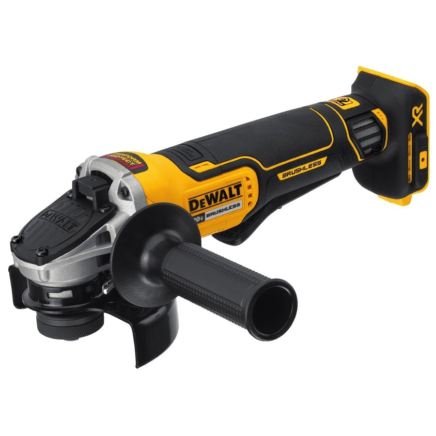 De Walt Electric Grinder ~ Shop dewalt in volt max cordless angle grinder
