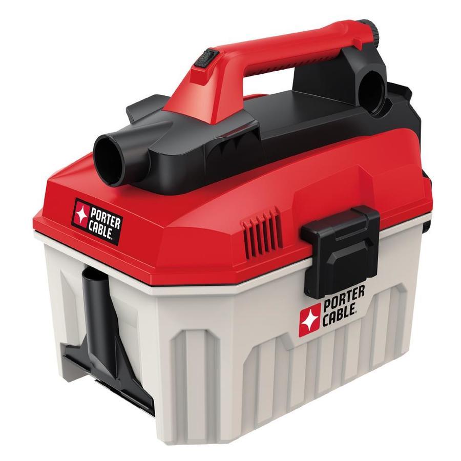 PORTER-CABLE 2-Gallon 0-Peak -HP Shop Vacuum