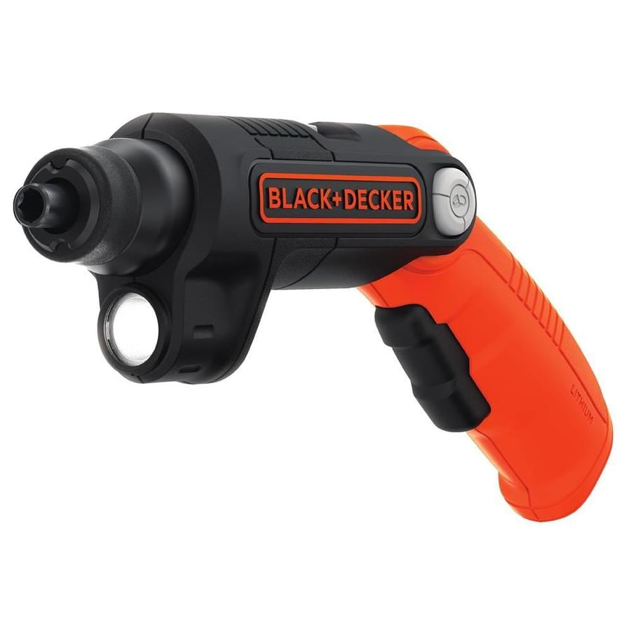 BLACK+DECKER Lithium Ion Cordless Screwdriver
