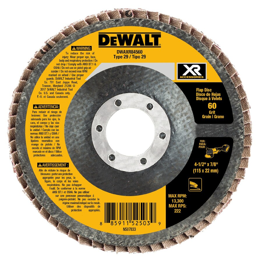 DEWALT XR Ceramic 4.5-in 60-Grit Grinding Wheel