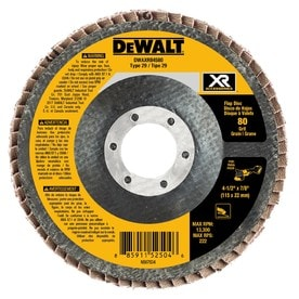 DEWALT XR Ceramic 4.5-in 80-Grit Grinding Wheel