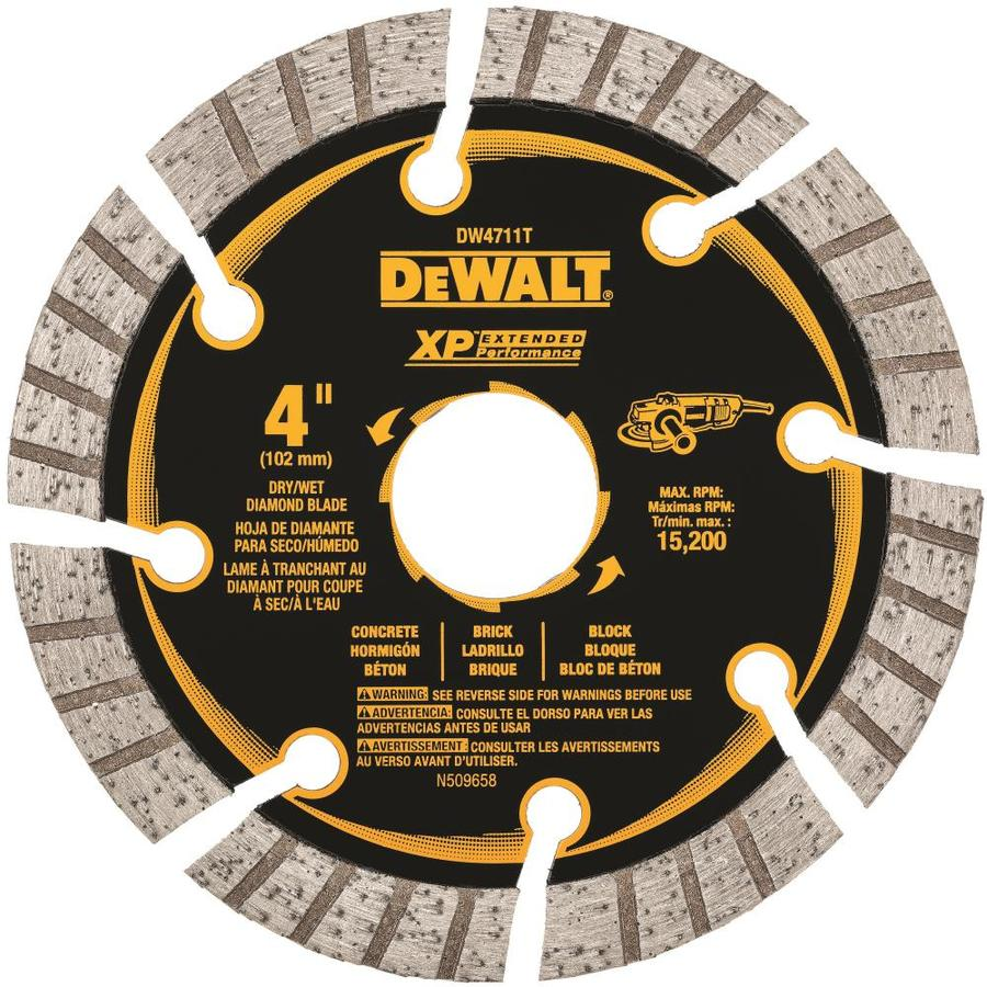 Dewalt Xp Diamond 4 In Grinding Wheel At Lowes Com